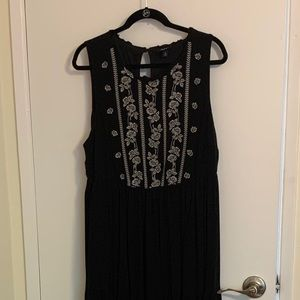 Black Torrid maxi dress